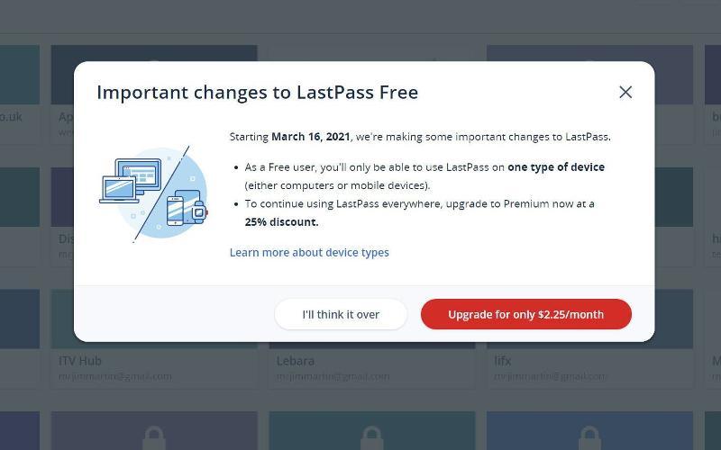 Pasar de LastPass a Bitwarden